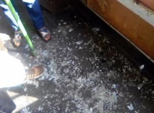 КамАЗ протаранил автобус с пассажирами в Ямном под Воронежем
