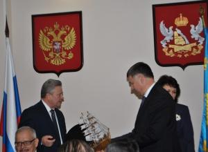 Юрию Мишанкову подогнали корабль ко дню рождения