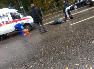Опубликованы снимки сбитой автомобилисткой в Воронеже женщины