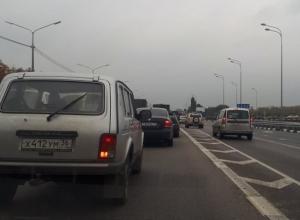 Приезд Владимира Путина парализовал движение в Воронеже