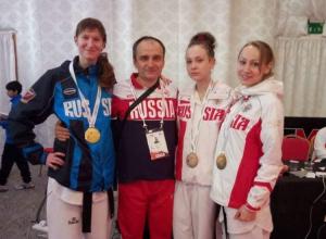 Воронежские тхэквондистки завоевали три медали на международном турнире в Эмиратах
