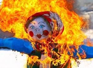 Воронежцев просят не сжигать вместе с «Масленицей» все вокруг