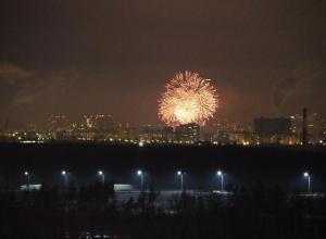 Воронежцы устроили «нытье» по поводу траты денег на салют 23 февраля