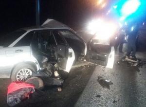 Последствия чудовищной аварии с двумя трупами на Пасху в Воронеже попали на видео