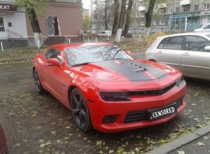 Воронежец на ВАЗе сравнил Chevrolet Camaro с фекалиями