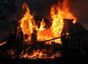 На пожаре в Воронежской области сгорел житель Грибановского района