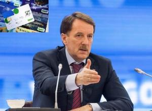 Воронежский губернатор видит финансовый суверенитет России в картах «МИР»