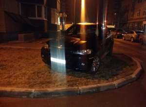 Воронежцы защитили автохама на BMW X6