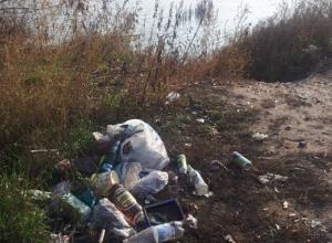 Воронежцев, загадивших берег реки Дон, назвали неизлечимыми мерзотами