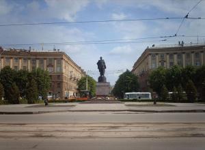 В Воронеже подсветят «горбатые» дома по улице Мира