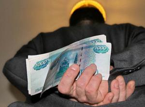 В Воронеже полицейскому грозит увольнение за крупную взятку