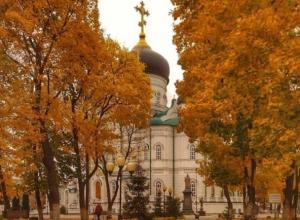 Самое красивое осеннее место сфотографировали в Воронеже