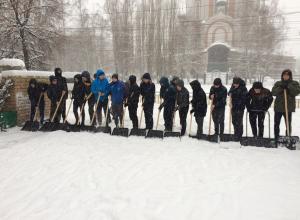За 21 января коммунальщики вывезли 2,3 тыс кубометров снега