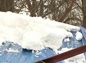 Крыша аттракциона рухнула в парке в Воронежской области