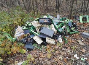 Воронежцы обнаружили кладбище банкоматов на берегу реки Дон