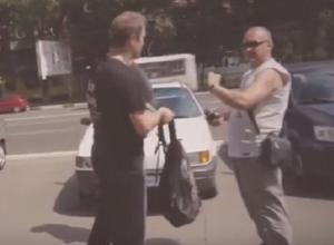 Автоактивиста Шамардина облили мочой во время рейда в Воронеже