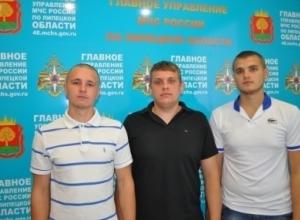 В Воронеже трое парней спасли семью с 4-летним ребенком из пожара
