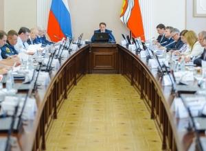 Алексей Гордеев и Олег Нефёдов встретились на антитеррористической комиссии