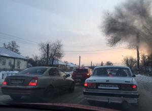 Неочищенные дороги спровоцировали в Воронеже 8-балльные пробки