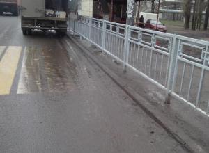 Воронежцам не дали «шуткануть» про пешеходный переход на «Машмете»