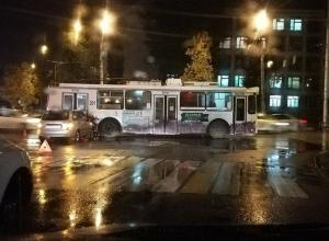 Воронежцев удивило ДТП с «троллем»