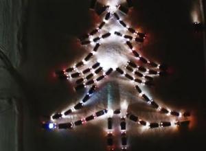 Воронежских автомобилистов позвали на массовую акцию в честь Нового года