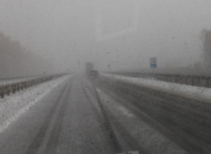 Автомобилистов предупредили о заснеженной трассе по пути в Воронеж