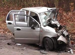 29-летняя автомобилистка погибла при лобовом столкновении в Воронеже