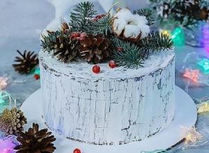 Необыкновенный зимний торт сделал кондитер из Воронежа