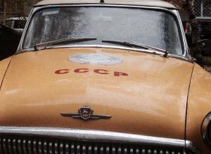 Легендарную 21-ю «Волгу» с надписью СССР сфотографировали в Воронеже