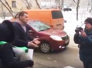 Воронежские антиникелевые активисты испугались диалога с УГМК и попали на видео