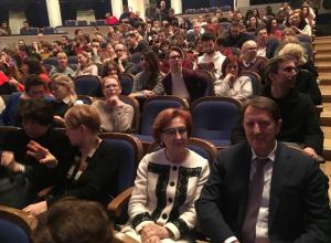 Алексей Гордеев с женой сходил на свою любимую воронежскую оперу