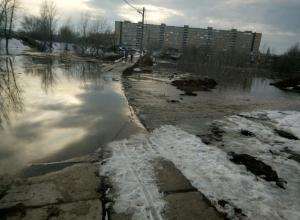 Под Воронежем женщина едва не утонула в канализационной луже
