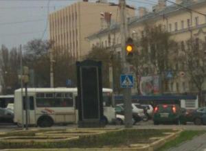 Стала известна причина поломки «умного» светофора в Воронеже
