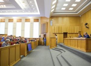Депутаты потренировались на Ротенберге спорить с чиновниками воронежского правительства