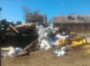 Гость города пришел в ужас от грязи и помоев в Воронеже