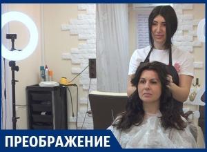 Новый цвет волос и прическу получила героиня проекта «Преображение»