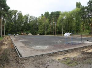 В воронежском парке «Алые паруса» появится баскетбольная площадка по стандартам NBA