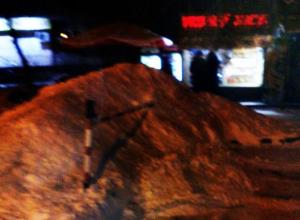 Воронежцы увидели «беспредел» в уборке снега со стоянки военной академии