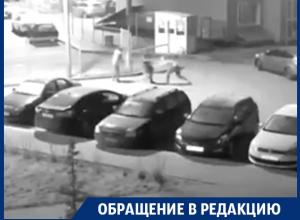 Жестоко избивающий женщин и парня воронежец попал на видео
