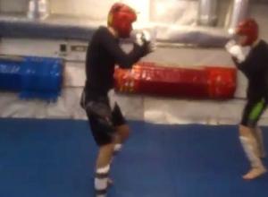 Шокирующий удар воронежца ногой по сопернику попал на видео