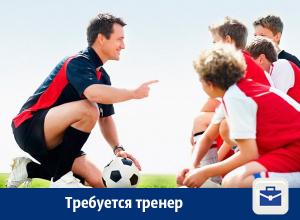 Требуется тренер по футболу