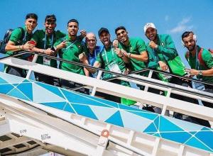 Разными жестами марокканские футболисты попрощались с Воронежем