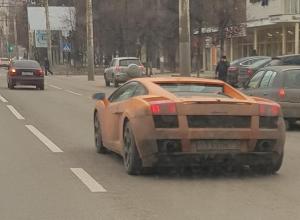 Оранжевая Lamborghini спровоцировала в Воронеже «классовую войну»