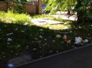 Воронежца подняли на смех за жалобы на мусор во дворе