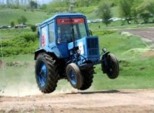 Воронежец пытался угнать трактор, чтобы съездить за алкоголем