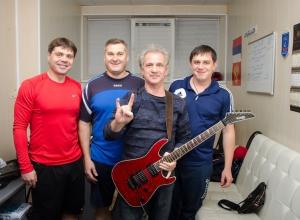Воронежский «Буран» поддержал экс-гитарист легендарной группы «Сектор Газа»
