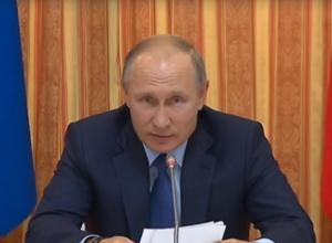 Путин выразил респект воронежскому губернатору