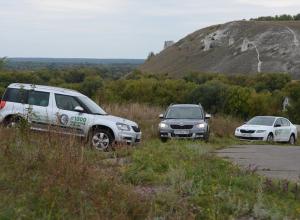 «1000 километров Истории», или по дорогам Воронежской области на автомобилях с чешским характером
