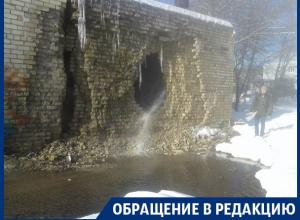 Воронежцы пожаловались на потоп, который почти неделю все игнорируют